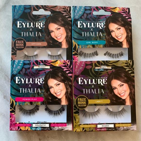 cb8c486cfad Eylure Makeup | X Thalia False Lashes Set Of 4 | Poshmark
